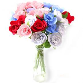 Well Tailored Non-woven Fabric Rose Bouquet Kit Supplies