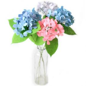 Non-woven Fabric Bouquet Material Kit Supplies- Hydrangea Macrophylla