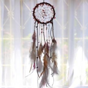 Natural Feather Dream Catcher DIY Material Kit Supplies- Precipice